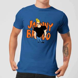 Johnny Bravo Pose Men's T-Shirt - Royal Blue