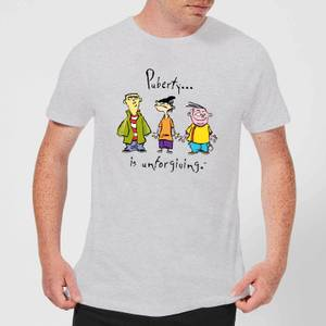 Ed, Edd n Eddy Puberty Is Unforgiving Men's T-Shirt - Grey