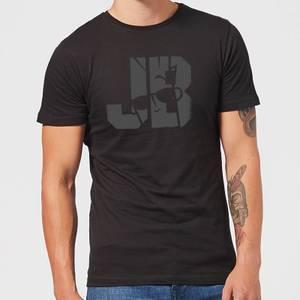 Johnny Bravo JB Sillhouette Men's T-Shirt - Black