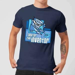 Dexters Lab The Inventor Men's T-Shirt - Navy