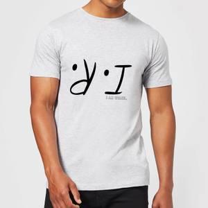 I Am Weasel I.R. Men's T-Shirt - Grey