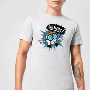 Dexters Lab Genius Men's T-Shirt - Grey