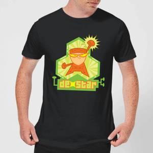 Dexters Lab DexStar Hero Men's T-Shirt - Black