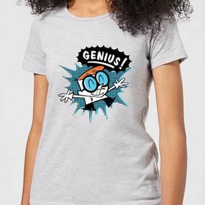 Dexters Lab Genius Women's T-Shirt - Grey