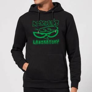Dexters Lab Logo Hoodie - Black