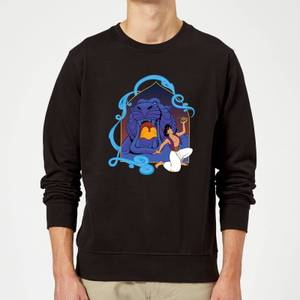 Disney Aladdin Cave Of Wonders Sweatshirt - Black
