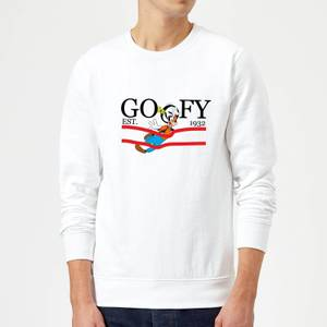 Disney Goofy By Nature Sweatshirt - White