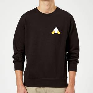 Disney Donald Duck Backside Sweatshirt - Black