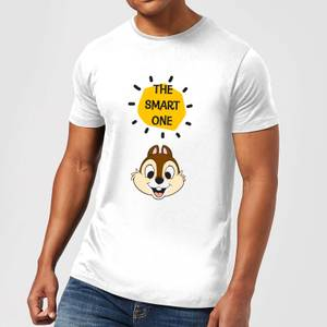 Disney Chip 'N' Dale The Smart One Men's T-Shirt - White