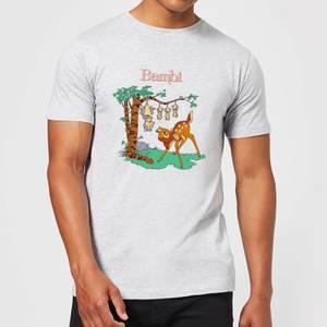 Disney Bambi Tilted Up Men's T-Shirt - Grey