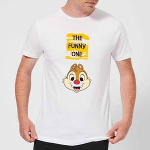 Disney Chip 'N' Dale The Funny One Men's T-Shirt - White