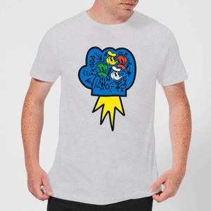 Donald Duck Pop Fist Men's T-Shirt - Grey