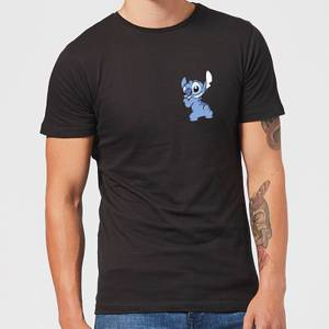 Disney Stitch Backside Men's T-Shirt - Black