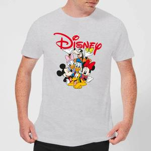 Mickey Mouse Disney Crew Men's T-Shirt - Grey