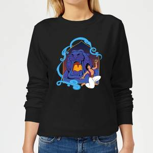 Disney Aladdin Cave Of Wonders Women's Sweatshirt - Black