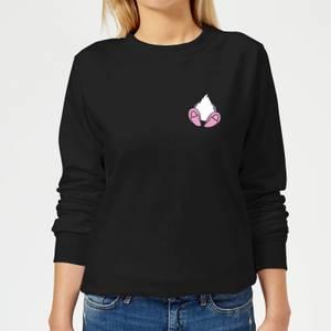 Disney Daisy Duck Backside Women's Sweatshirt - Black