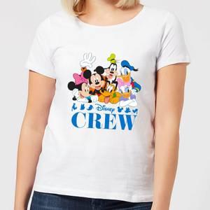 Disney Crew Women's T-Shirt - White
