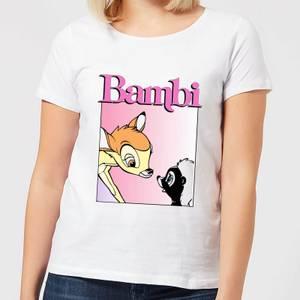 Disney Bambi Nice To Meet You Women's T-Shirt - White