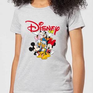Mickey Mouse Disney Crew Women's T-Shirt - Grey