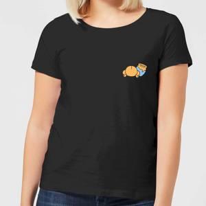 Disney Winnie The Pooh Backside Women's T-Shirt - Black