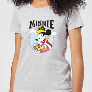 Disney Mickey Mouse Queen Minnie Women's T-Shirt - Grey