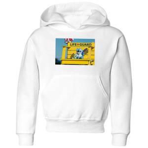 Disney Lilo & Stitch Life Guard kinder hoodie - Wit