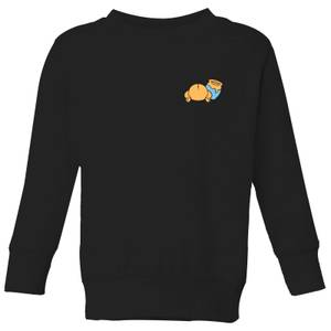 Disney Winnie The Pooh Backside Kids' Sweatshirt - Black