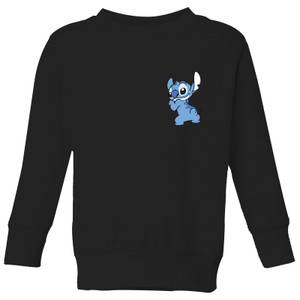 Disney Stitch Backside Kids' Sweatshirt - Black