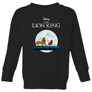 Disney Lion King Hakuna Matata Walk Kids' Sweatshirt - Black