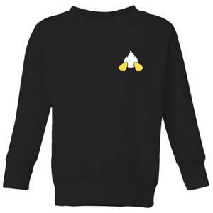 Disney Donald Duck Backside Kids' Sweatshirt - Black
