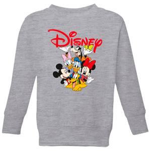 Mickey Mouse Disney Crew Kids' Sweatshirt - Grey