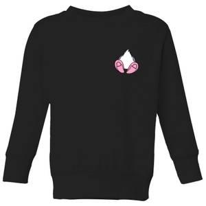 Disney Daisy Duck Backside Kids' Sweatshirt - Black