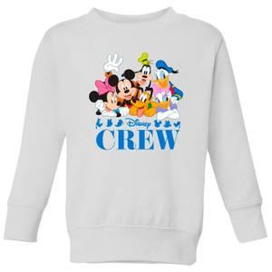 Disney Crew Kids' Sweatshirt - White