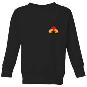 Disney Mickey Mouse Backside Kids' Sweatshirt - Black