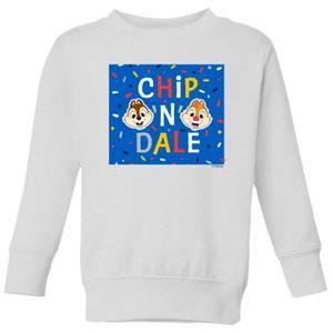 Disney Chip N' Dale Kids' Sweatshirt - White