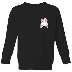 Disney Marie Backside Kids' Sweatshirt - Black