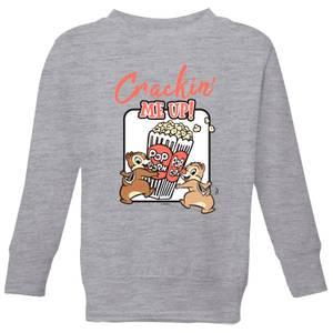 Disney Crackin Me Up Kids' Sweatshirt - Grey