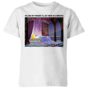 Disney Sleeping Beauty I'll Be There In Five Kinder T-Shirt - Weiß