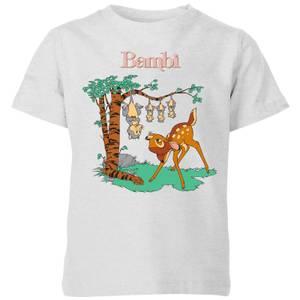 Disney Bambi Tilted Up Kids' T-Shirt - Grey