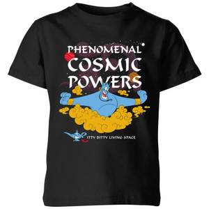 Disney Aladdin Phenomenal Cosmic Power Kids' T-Shirt - Black