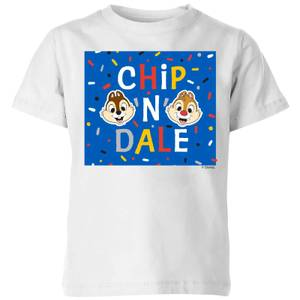 Disney Chip N' Dale Kids' T-Shirt - White