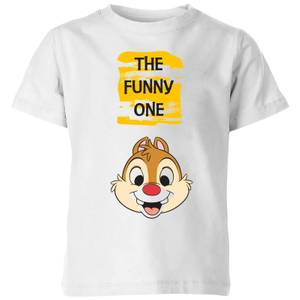 Disney Chip 'N' Dale The Funny One Kids' T-Shirt - White