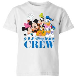 Disney Crew Kids' T-Shirt - White