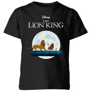 Disney Lion King Hakuna Matata Walk Kids' T-Shirt - Black