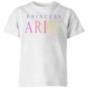 Disney De Kleine Zeemeermin Princess Ariel kinder t-shirt - Wit