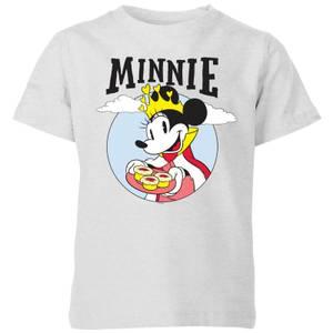 Disney Mickey Mouse Queen Minnie Kids' T-Shirt - Grey