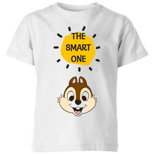 Disney Chip 'N' Dale The Smart One Kids' T-Shirt - White