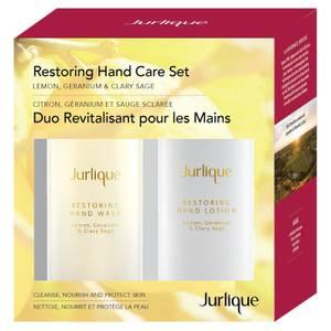 Jurlique Restoring Hand Care Set (Lemon, Geranium & Clary Sage) (Worth $62.00)