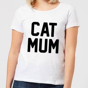 Cat Mum Women's T-Shirt - White