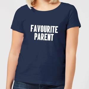 Favourite Parent Women's T-Shirt - Navy